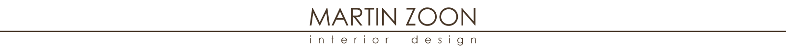 Martin Zoon – Interior design